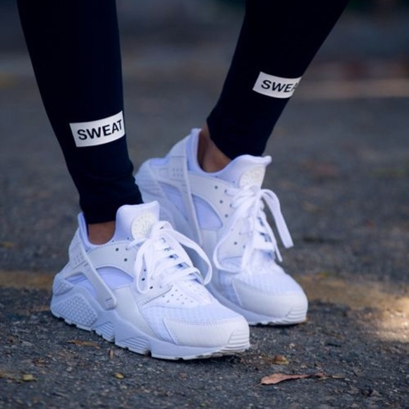 377d524f3dd59 Women s White Nike Huaraches